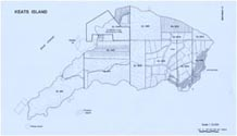 Keats Island British Columbia BC Lot Plan