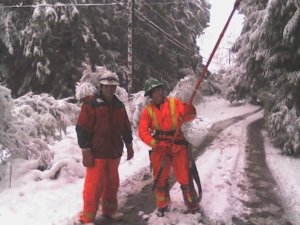 Ice Storm 2006 Hydro Guys